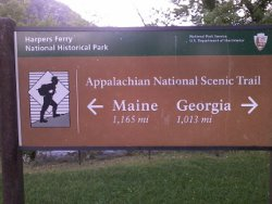 Appalachian Trail mileage