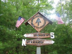 Appalachian Trail Half-way Point