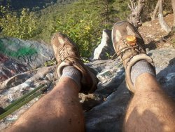 Appalachian Trail Foot Rest
