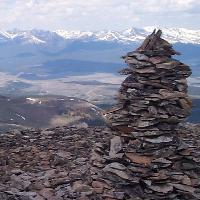 leave no trace rock cairns