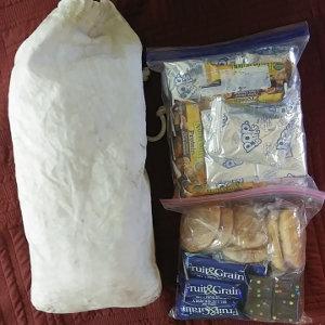PNT thru-hike food