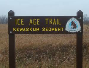 Ice Age Trail Kewaskum Segment