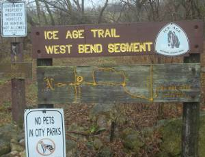 Ice Age Trail West Bend Segment