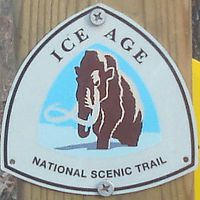 Ice Age Trail Blaze