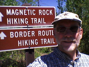 Magnetic Rock Trail Hike