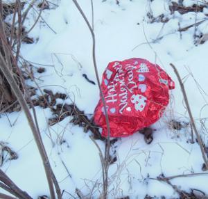 valentine trash