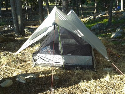 bear paw shelter front view