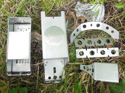 hot ash stove components