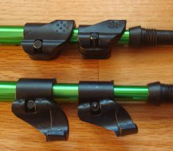 trekking pole cam locks