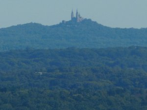 Holy Hill from Lapham Peak