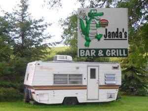 Janda's camper