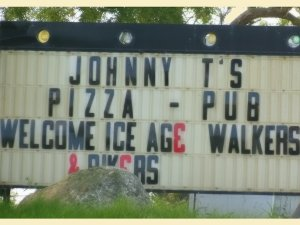 Johnny T's Welcome Sign