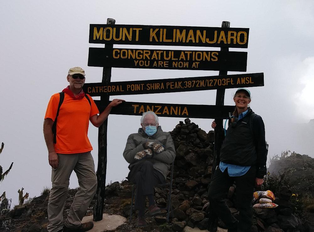 On Kilimanjaro
