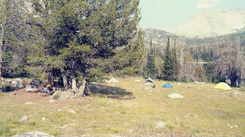Big Sandy campsite