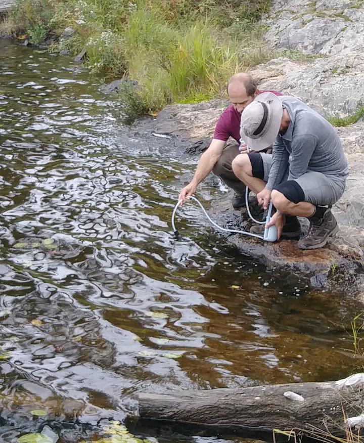BWCA Water Filtering