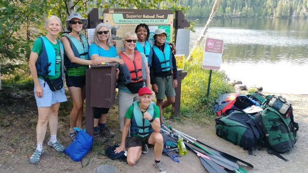 BWCA Women Canoeing