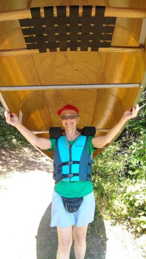 BWCA canoe portaging