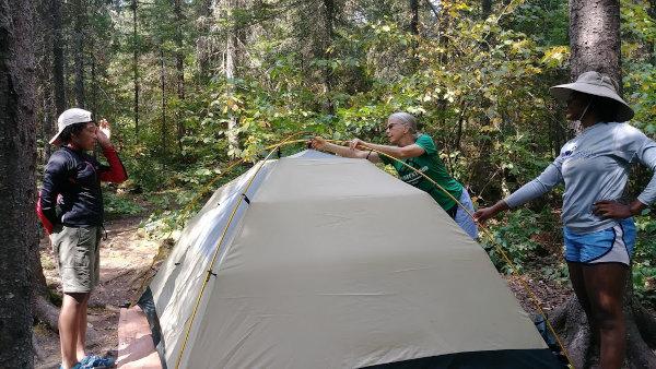 BWCAW campsite