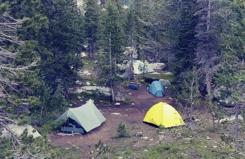 Wind River Campsite