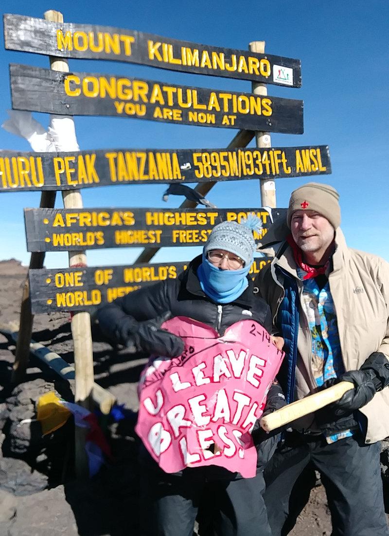 Kilimanjaro Summit Valentine