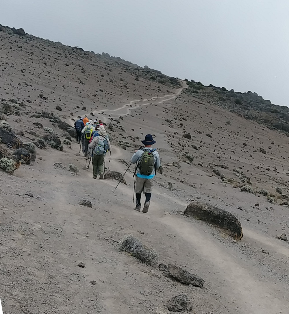 Kilimanjaro Barren Trail