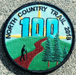 NCT 100 mile patch