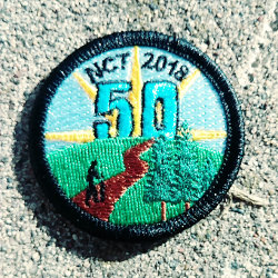 NCT 50 mile patch