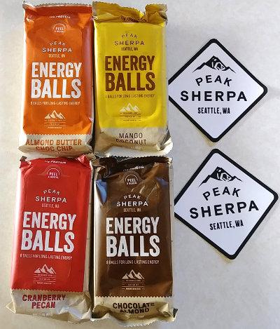 Peak Sherpa Energy Balls
