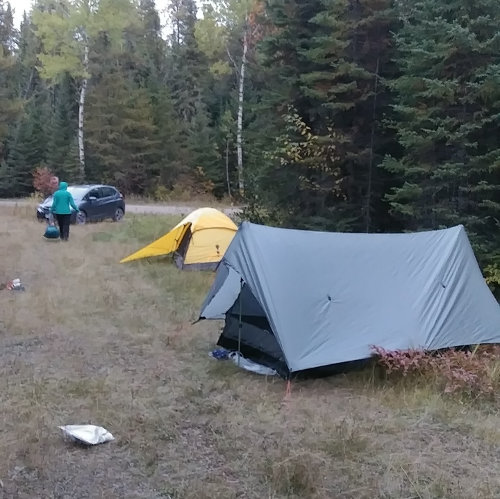 Dispersed Camping in Superior Forest
