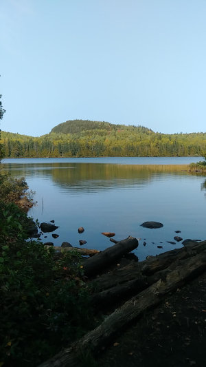 BWCA boundary Eagle Mountain