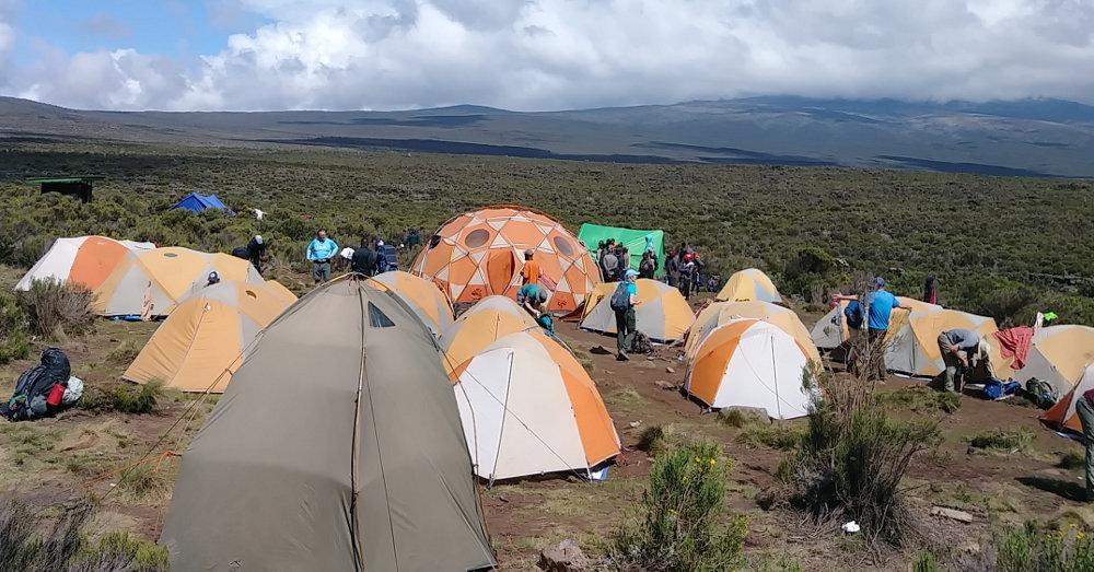 Kilimanjaro Shira 1 Camp