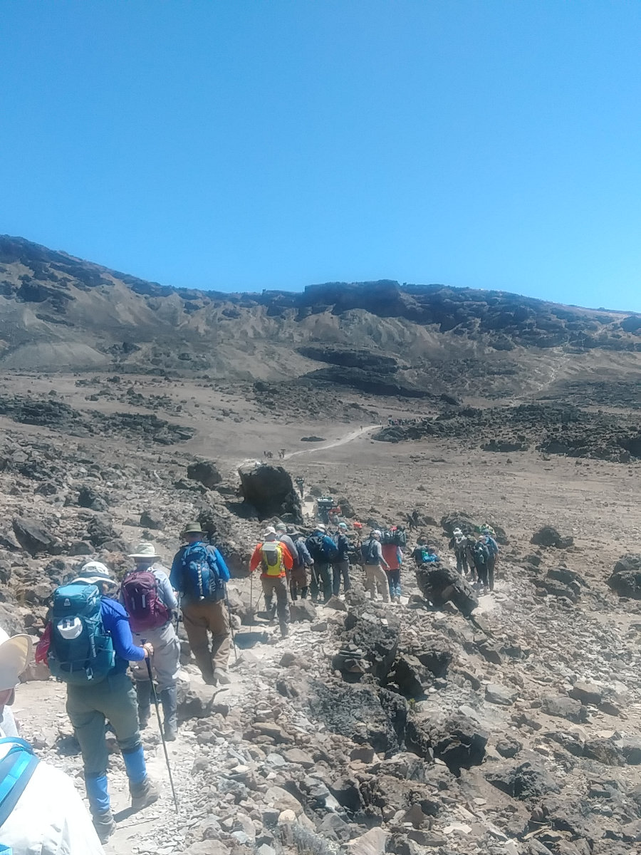 Kilimanjaro Slow and Steady