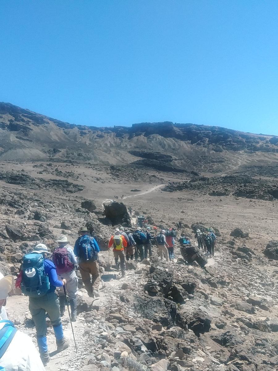 Kilimanjaro Slow and Steady