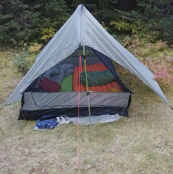 Bearpaw Wilderness Designs tarp tent