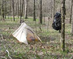 open camping