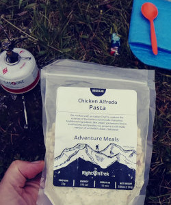 hiking meals